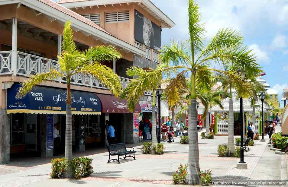 Port Zante Commercial Space For Rent, Shops at Port Zante, St Kitts