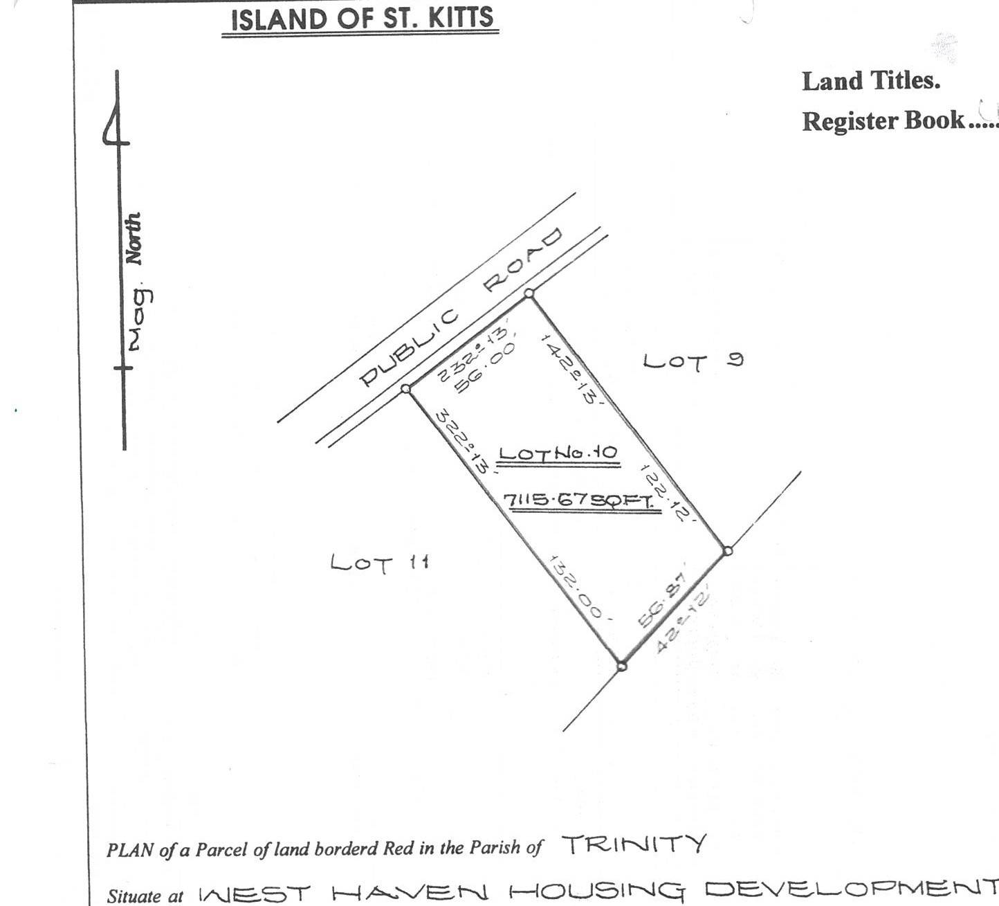 Land For Sale At West Haven Housing Development, St Kitts